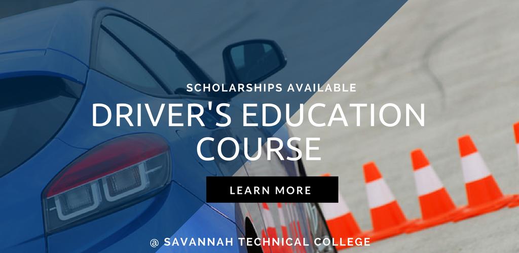 Driver's Education Course at Savannah Technical Colleg