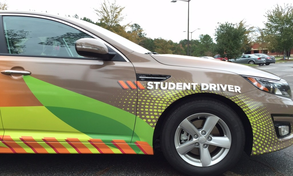 image of Savannah Tech's Driver's Education vehicle