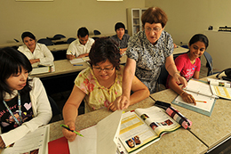 Are tests of adult basic education more detail