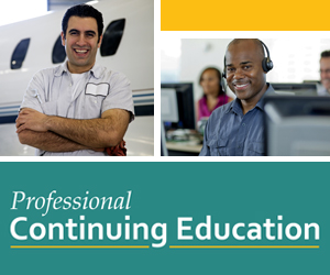 Professional Continuing Education Sidebar