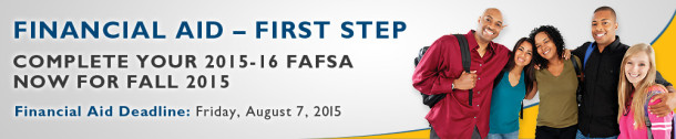Complete Your 2015-16 FAFSA Now for FAll 2015