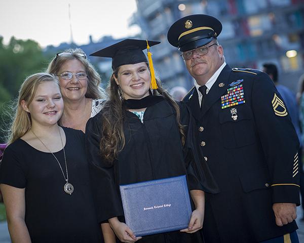 Brin Carson Family Grad 17