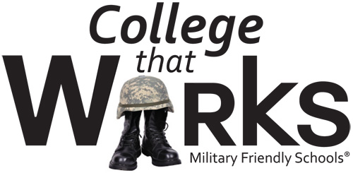 College That Works - Military Friendly Schools logo