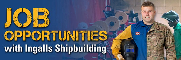 Job Opportunities with Ingalls Shipbuilding