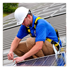 Savannah Tech students installing solar panels