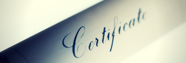 Professional Certifications and Licensing Header Image