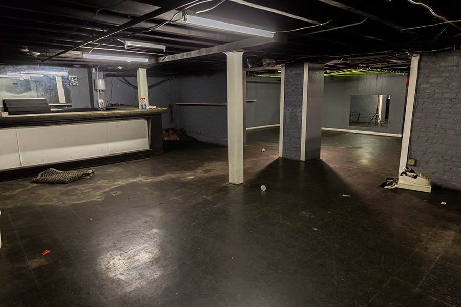Basement photo of 7 West Bay showing old bar