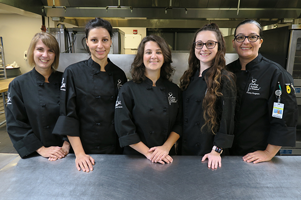 Baking & Pastry students (5) selected for France Academic Exchange