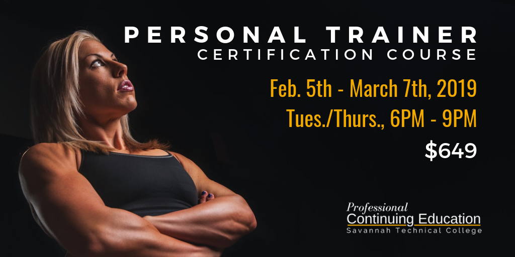Personal Trainer Certification Training Course
