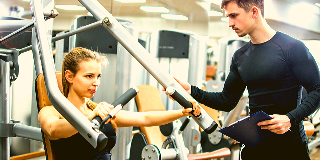 Personal Trainer Webpage Image