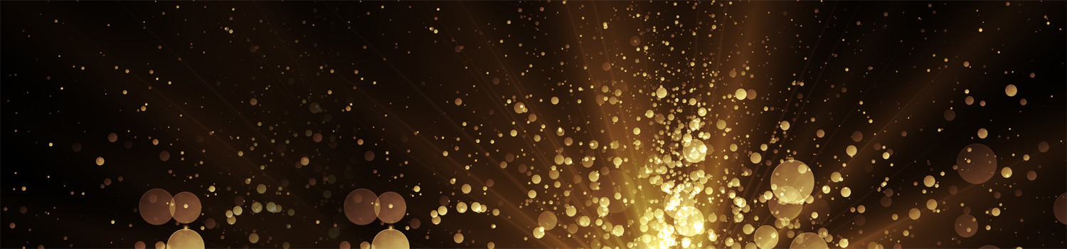 Bokeh background with rays