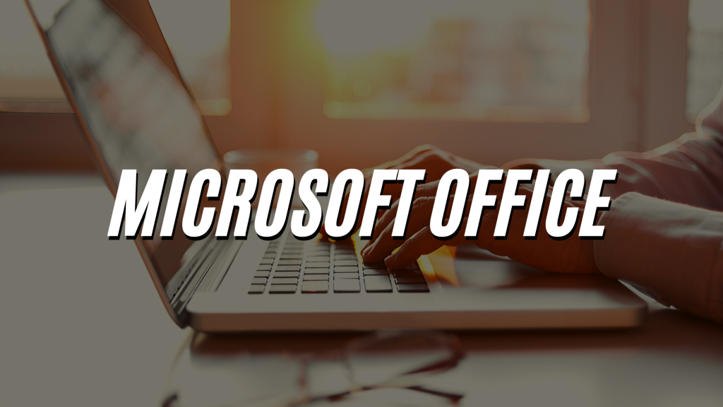 Microsoft Office WebSite Header Image