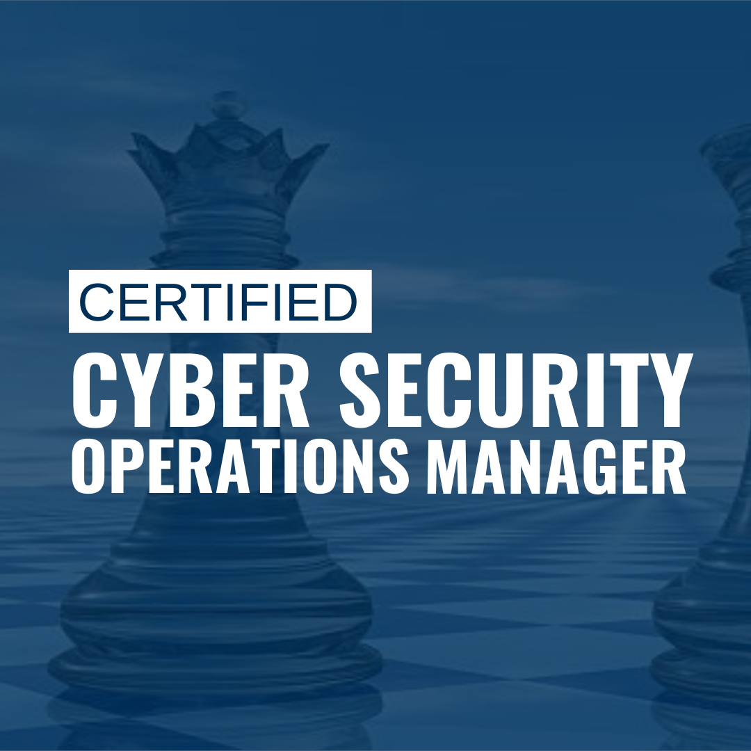 Cyber security operations manager