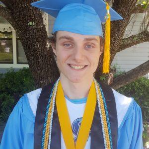 Rhett graduation headshot