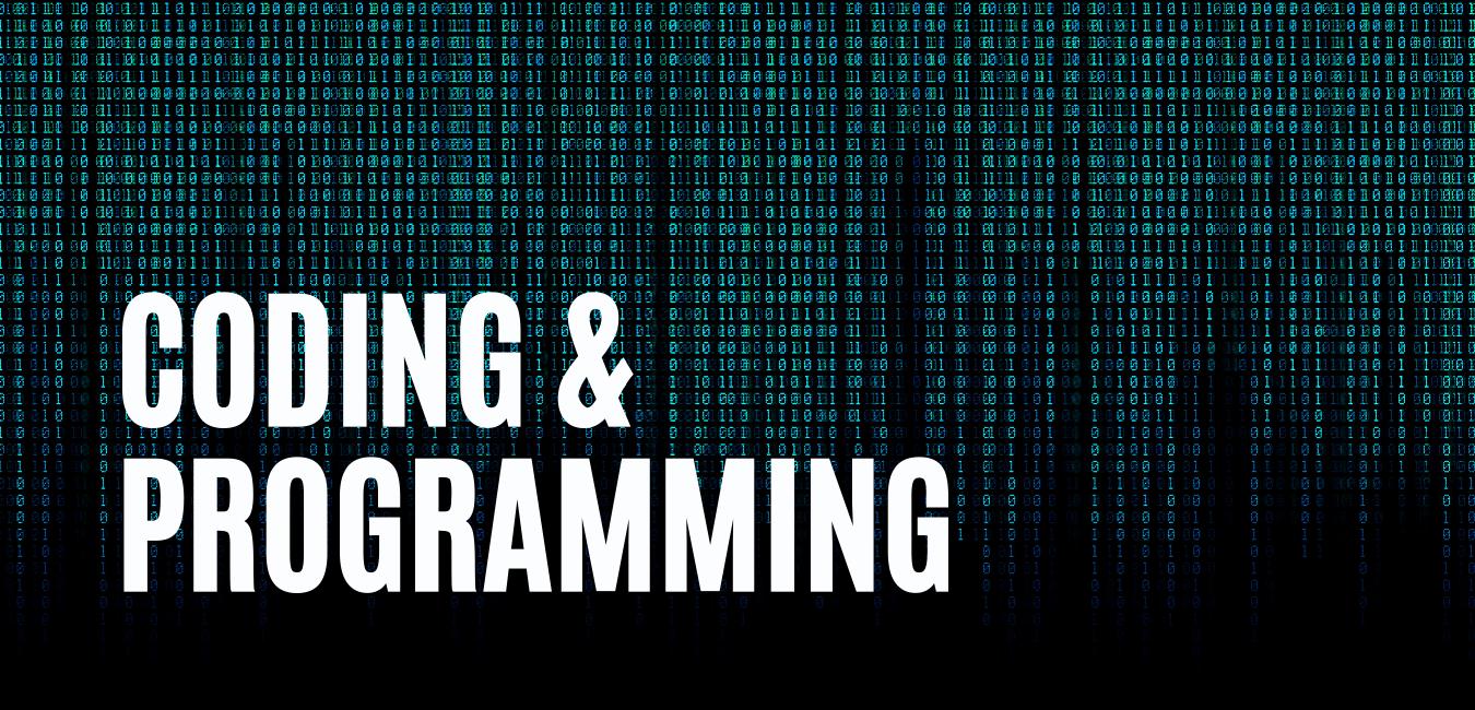 Coding-Programming-Website-Header