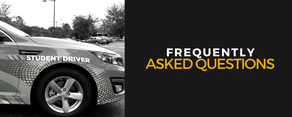Driver's Education Frequently Asked Questions