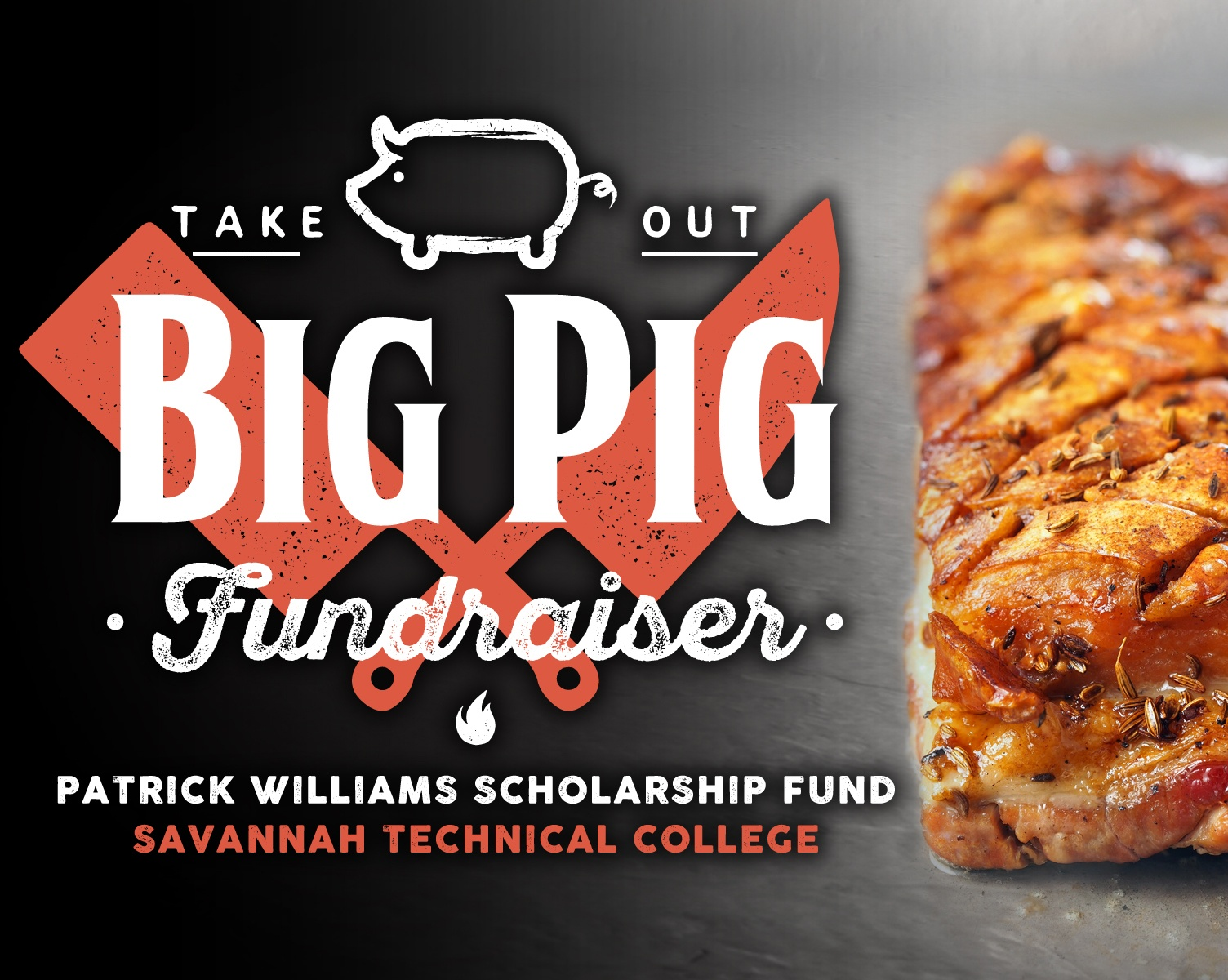 Big Pig Fundraiser - pork belly